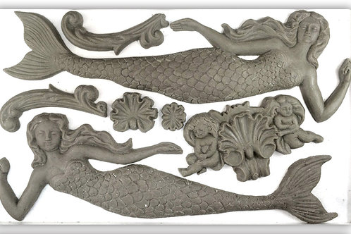 Sea Sisters6x10 Decor Mould2