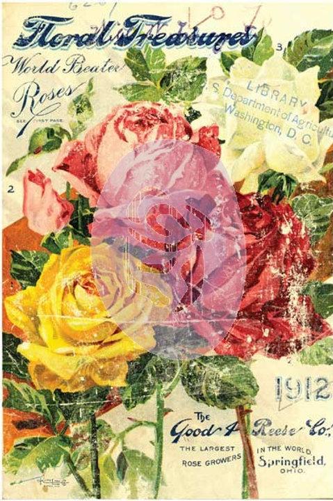 Floral Treasures 24 x 34