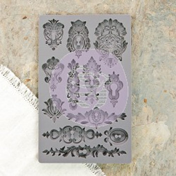 IOD Decor Mould - Keyholes