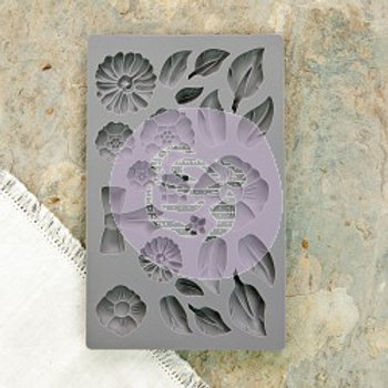 IOD Decor Mould - Rustic Fleur