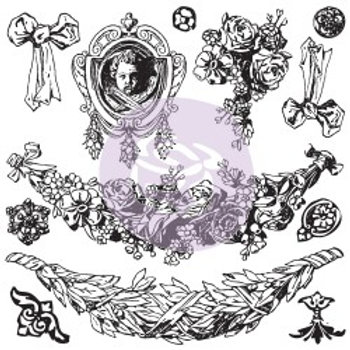 IOD Decor Stamps - Swags