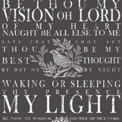 BeThou My Vision Decor Transfers