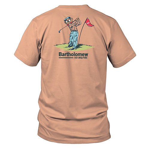 Youth & Toddler - BART - Short Sleeve Tee - Backswing Bart - Melon