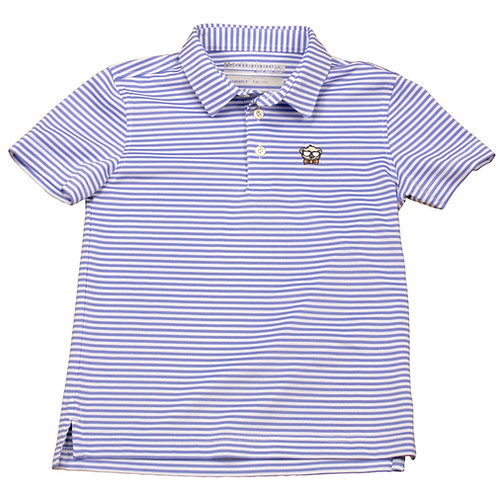 Youth & Toddler Sky Blue Stripe Polo
