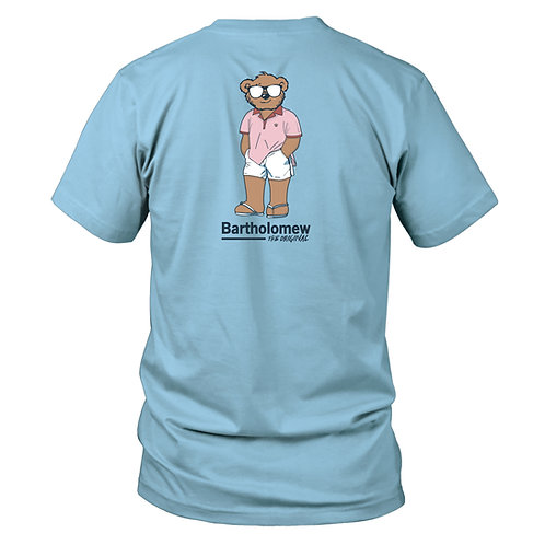 Youth & Toddler  SS Tee - Sunday - Sky Blue