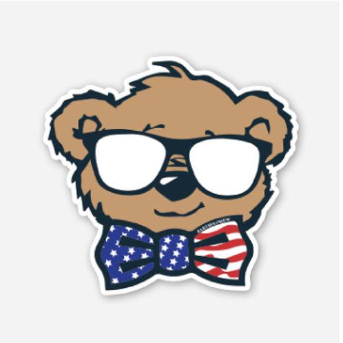 Bartholomew USA Sticker