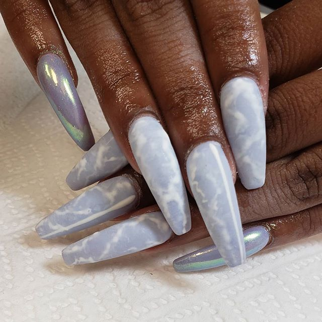 Can you believe these are her real nails