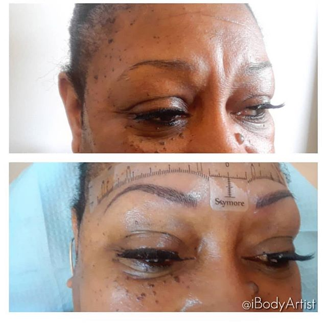 Wake up and not have to do your eyebrows