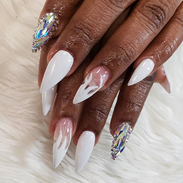 I LOVED THIS SET 😍❤💅🏽 #love #followba