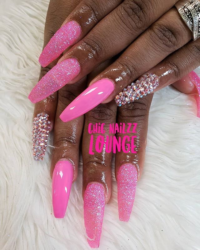 #nail #nailtech #pink #bgdn #gelpolish #