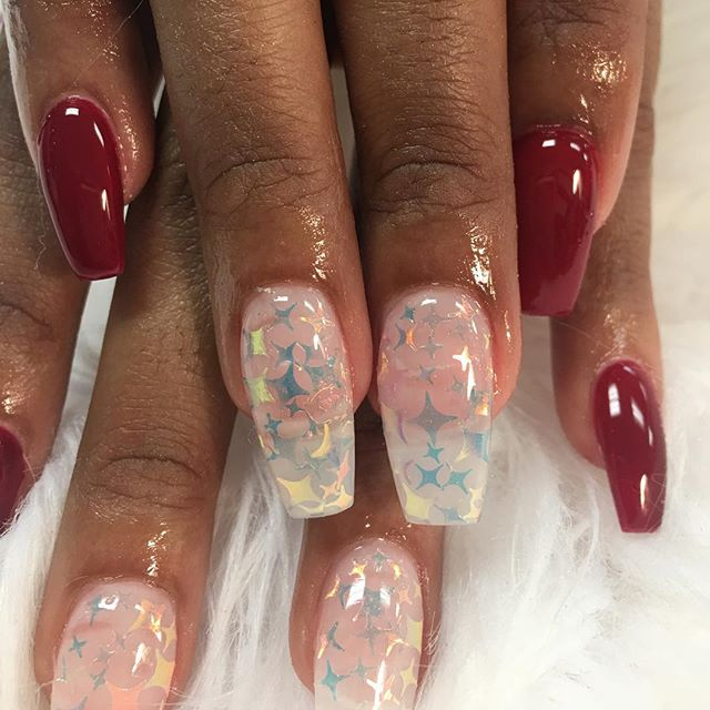 #fallnails #bookappointmentsnow #nailedbycutie #nailsofinstagram #nailsonfleek #coffinnails #whodoes
