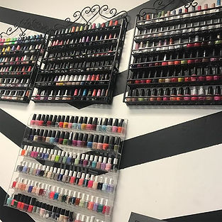 Wide array of Chic Nailz Paint Selection