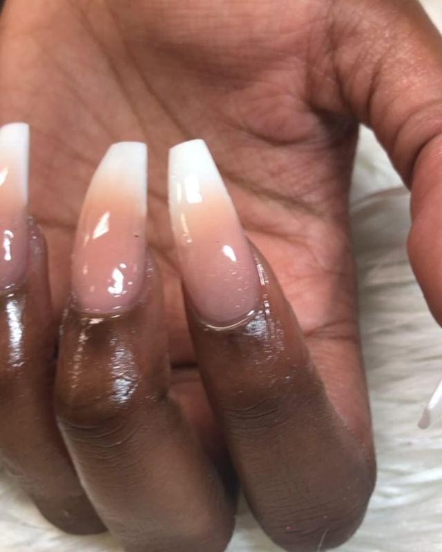 I luv doing ombré sets #instaglam #nails