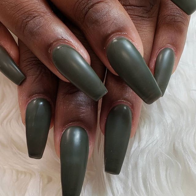 This green matte stole my heart