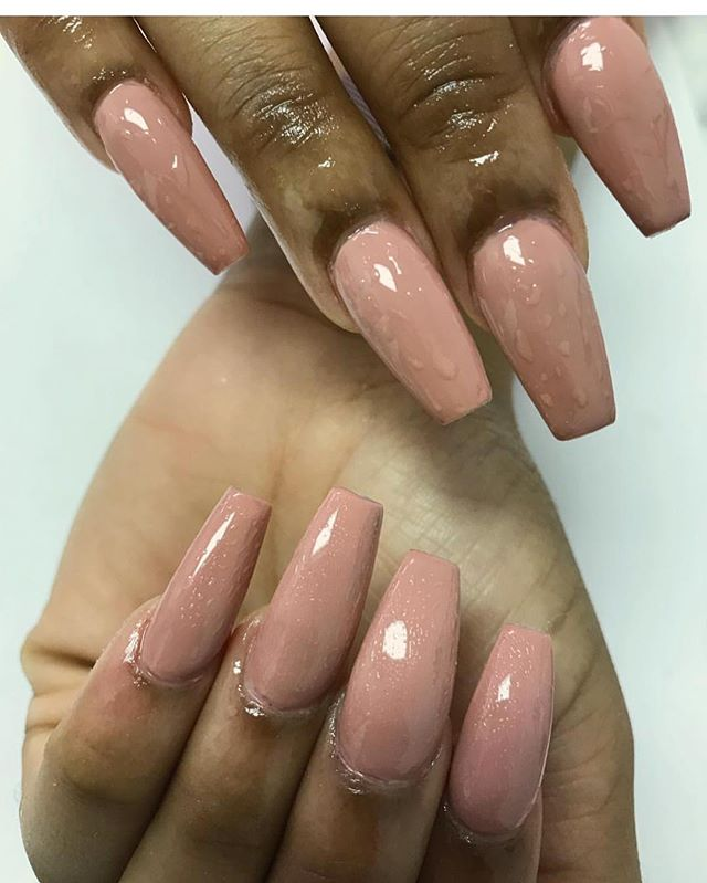Fullset nude polish by Tia