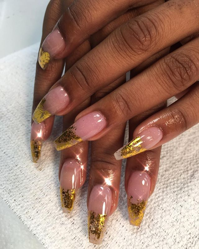 2018 #instaglam #nailstyle #classynails #classical #nailgram #nailsofinstagram #fairydust #nailpromo