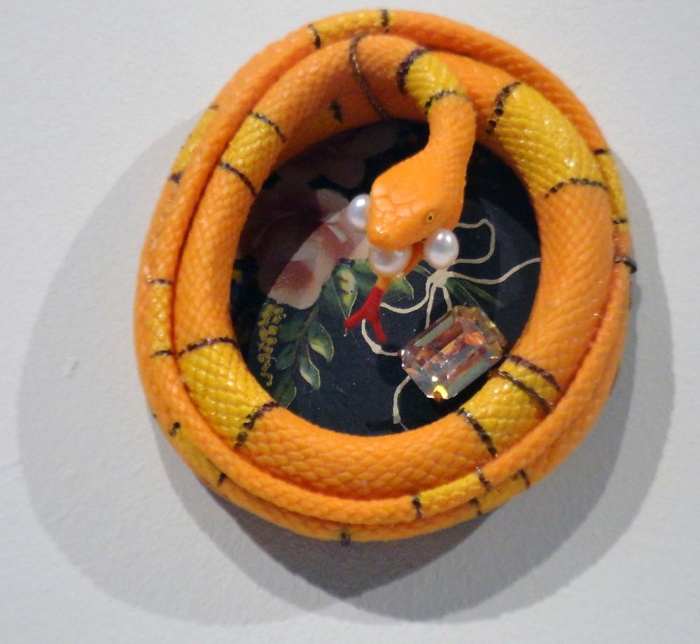 The Snake that lives in Ron's Garden, 2012.JPG