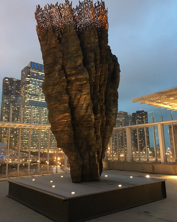 REVIEW | Ursula von Rydingsvard: Bronze Bowl with Lace