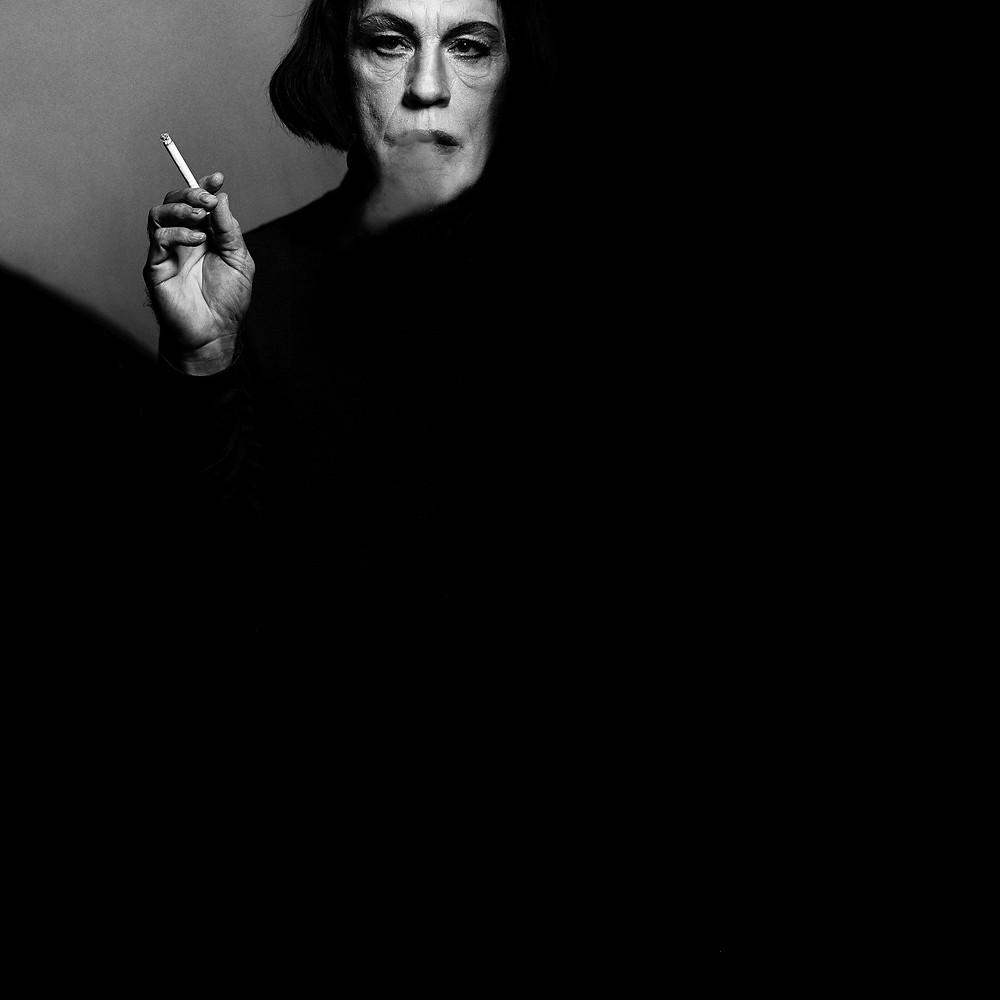 Victor Skrebneski : Bette Davis, Actor, 08 November (1971), Los Angeles Studio,