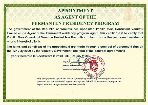 Certificate of PR Agent2.jpg