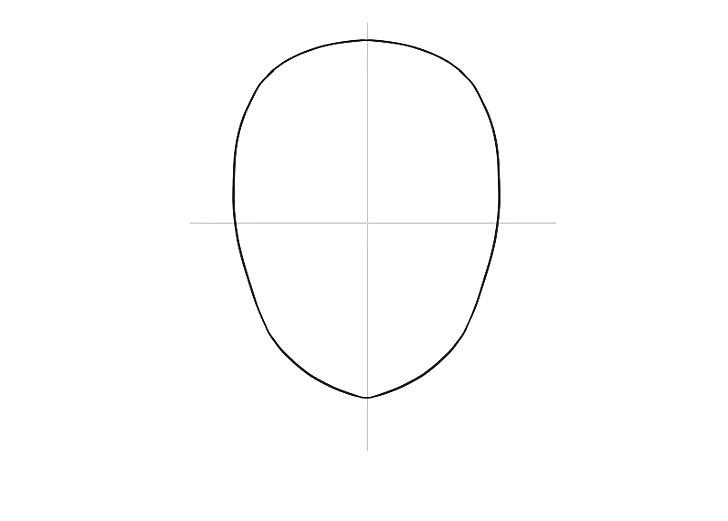 como desenhar rosto de mangá