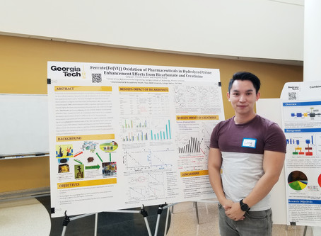 Poster Presentation at Associate of Environmental Engineers and Scientists (AEES) Symposium