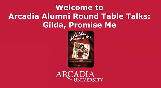 Arcadia Universsity Round table talm.JPG