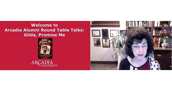 Arcadia Universsity Round table talk ban