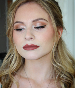 Makeup i did on this beautiful prom clie
