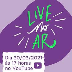 Live No Ar! Post para instagram para div