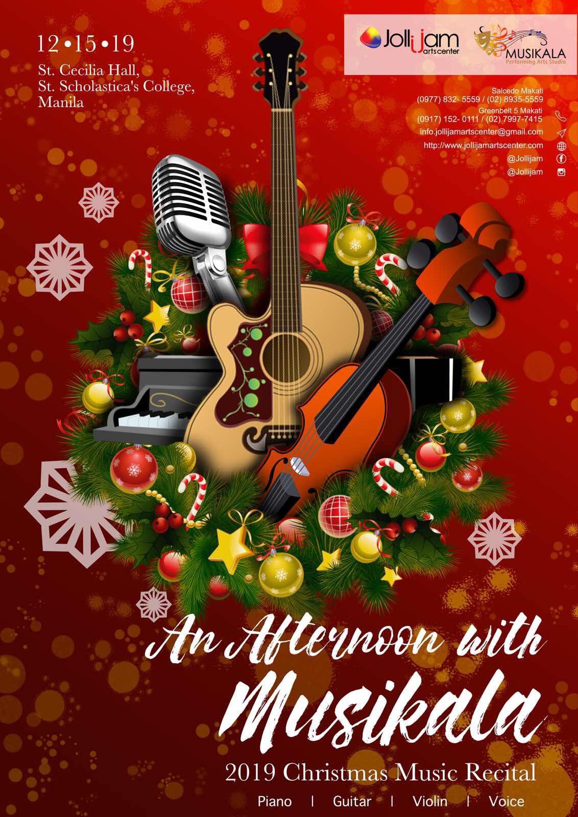2019 Christmas Music Recital