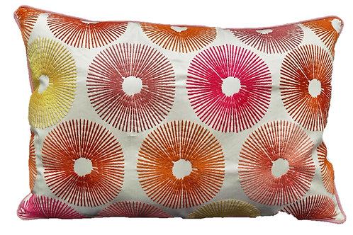 Cuscino decorativo multicolore