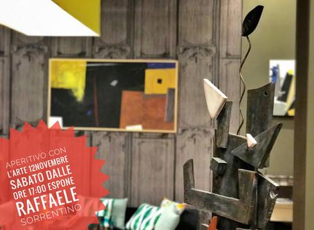 Aperitivo con L'Arte: 12 Novembre dalle ore 17:00 con Raffaele Sorrentino.