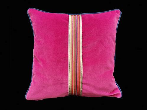 Cuscino decorativo velluto cotone