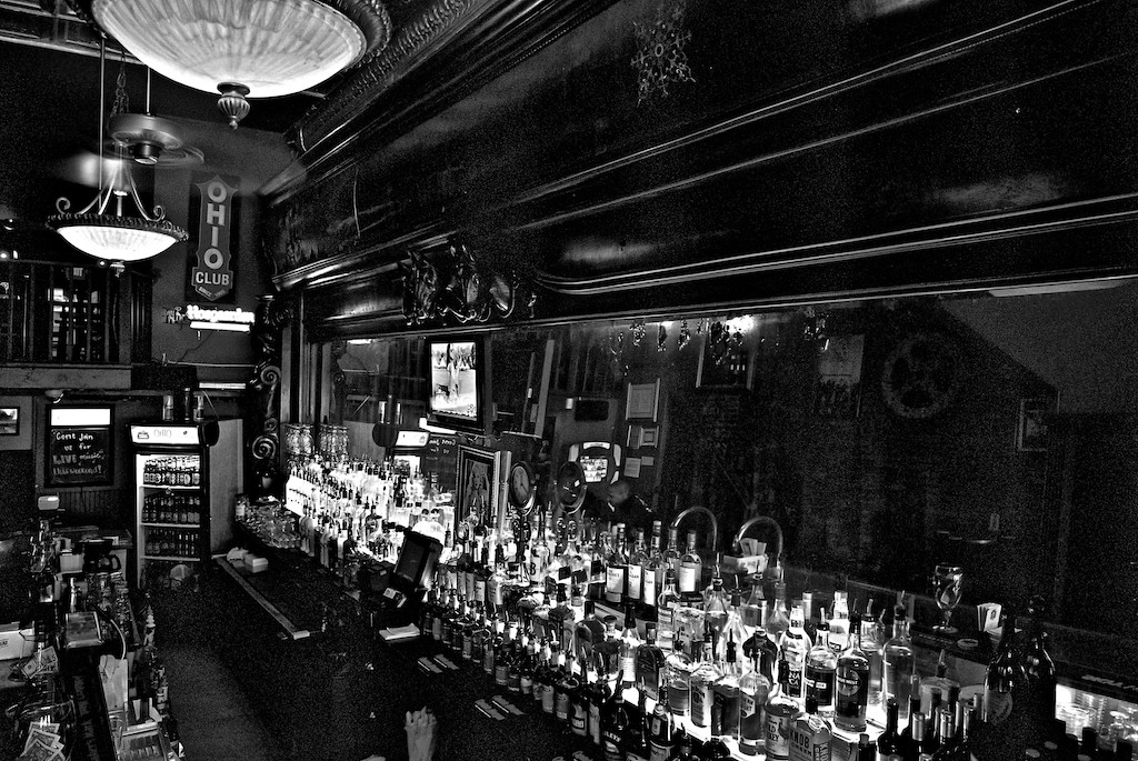 Ohio Club Back Bar