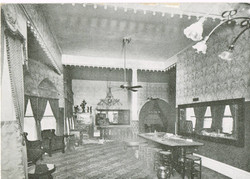 Ohio Club Interior 1905