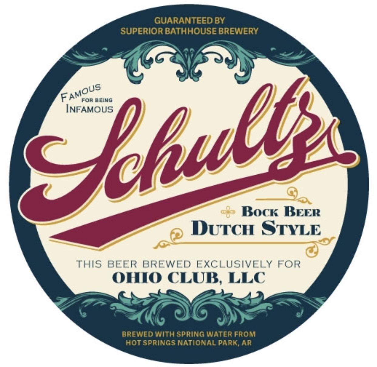 Ohio Club house beer, Schultz Bock