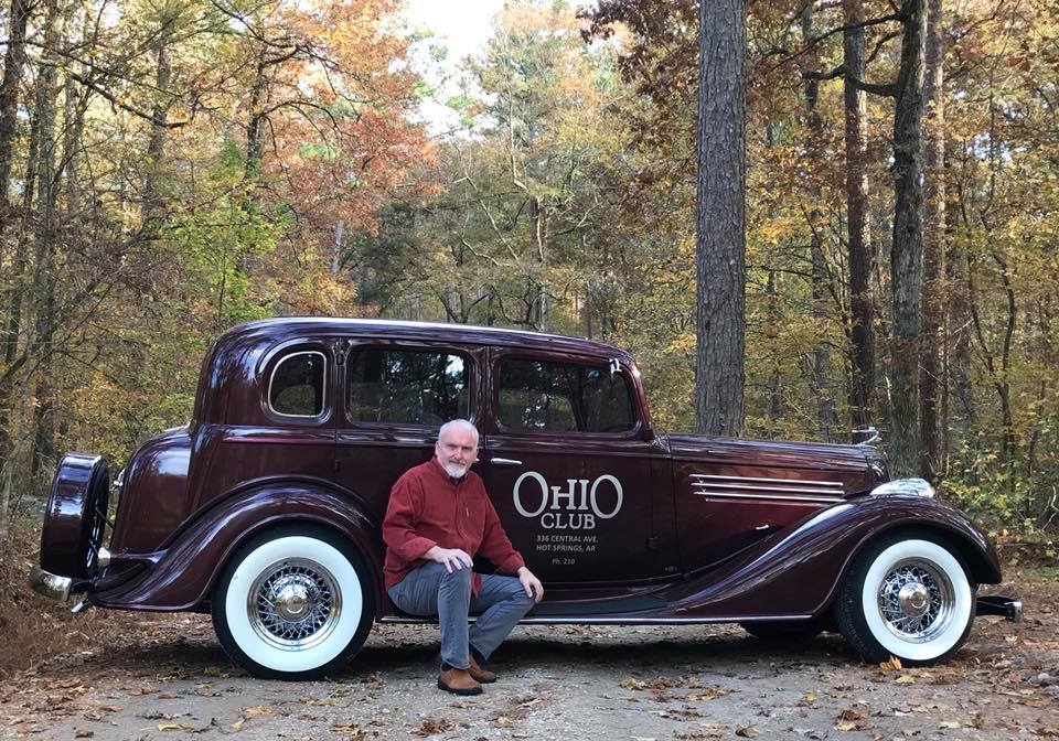 Mike and his 1935 Buick