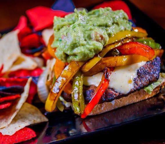 Holy guacamole burger