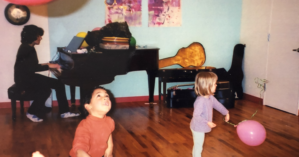 Music and movement with Lori Weber at 74 Warren Street, late 1990s