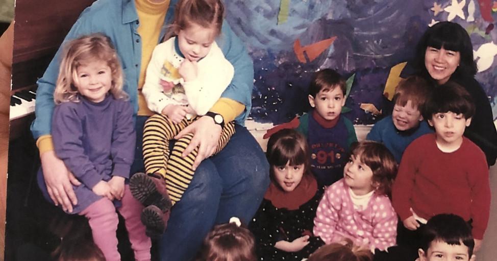 Preschool with Lauri Bailey early 1990s