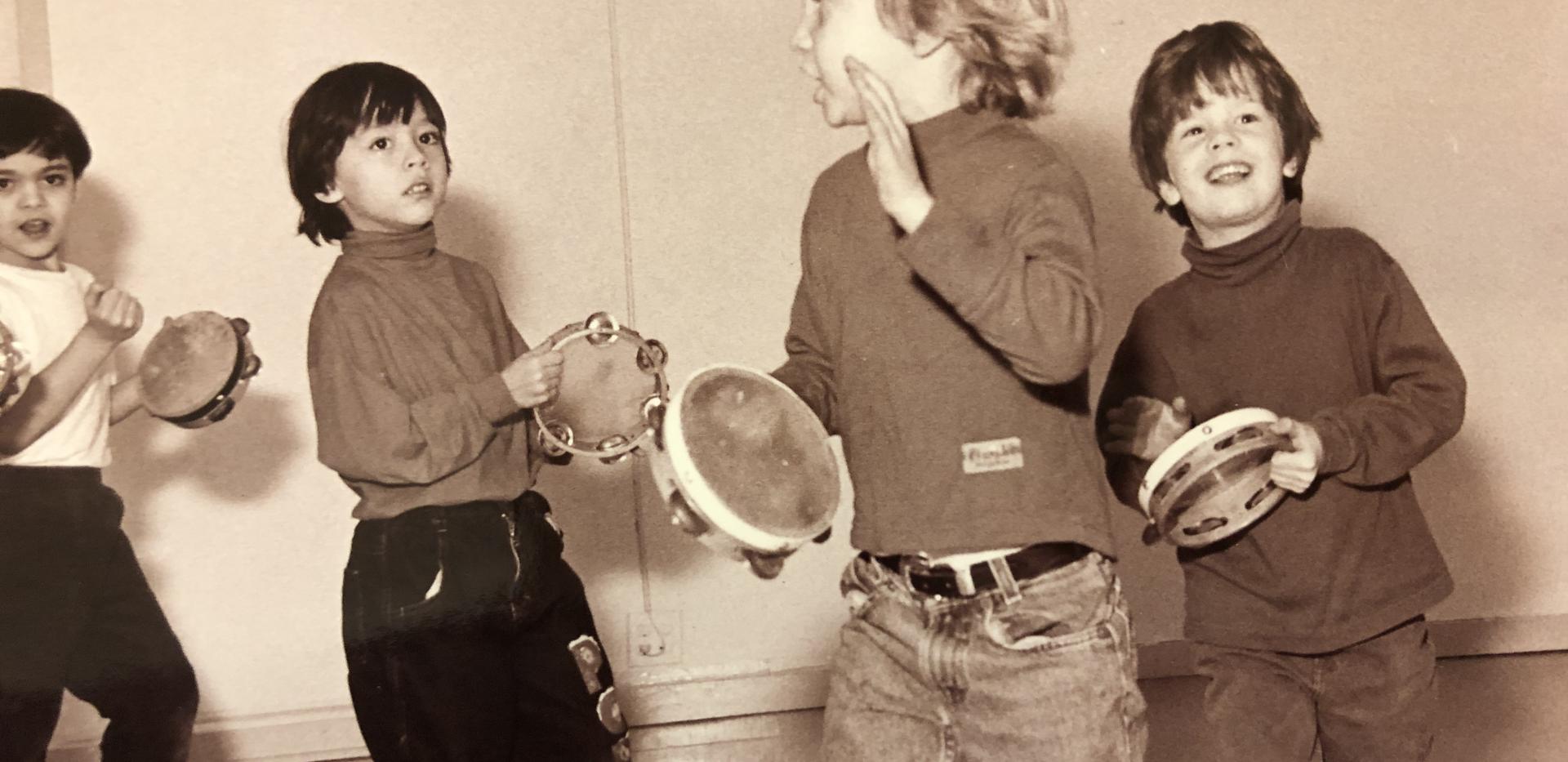 Dalcroze Eurhythmics class at 311 Church Street, early 1990s