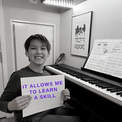 Gabriel, CSSMA Student