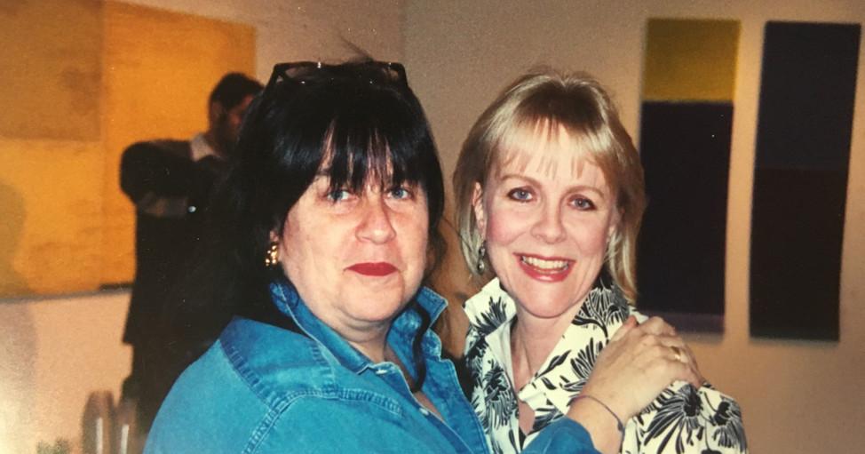Lisa Ecklund-Flores & former Board Member Wicki Boyle, circa 2003