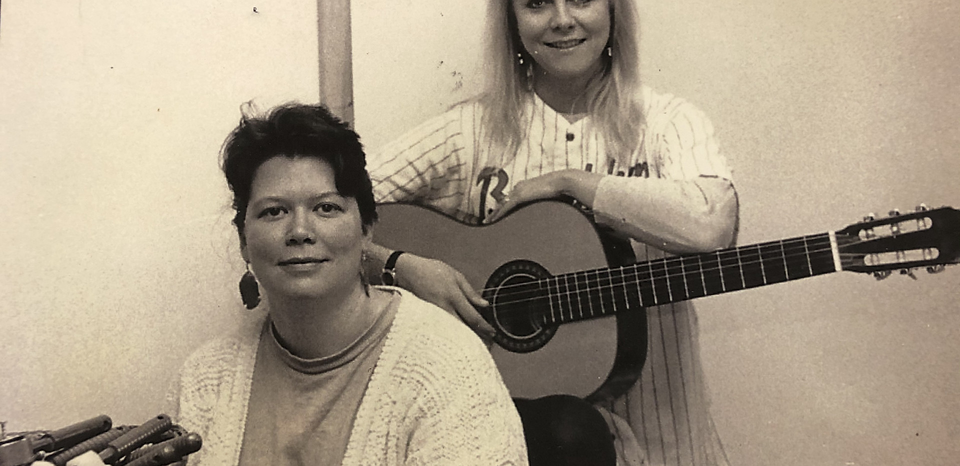 CSSMA Co-Founders Lauri Bailey and Lisa Ecklund-Flores, 1990