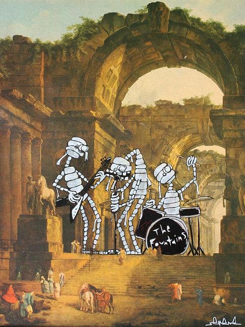 Surf Rock Mummy Band