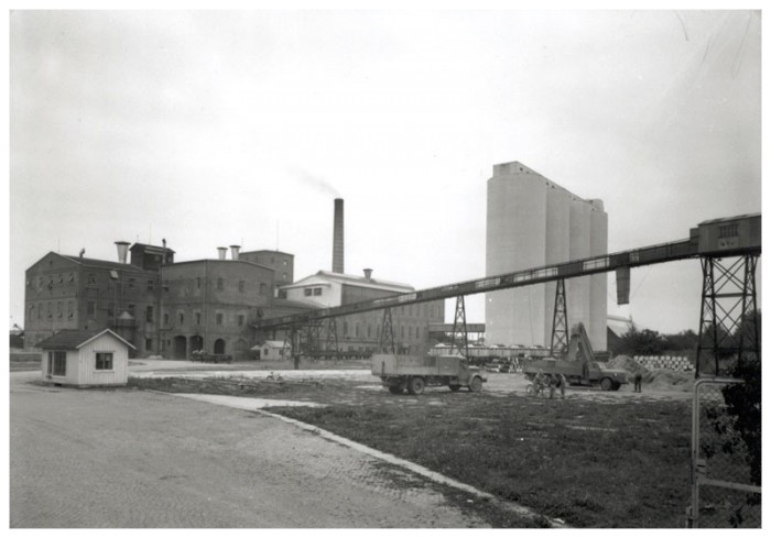 Sockerbruket i Mörbylånga, 1951