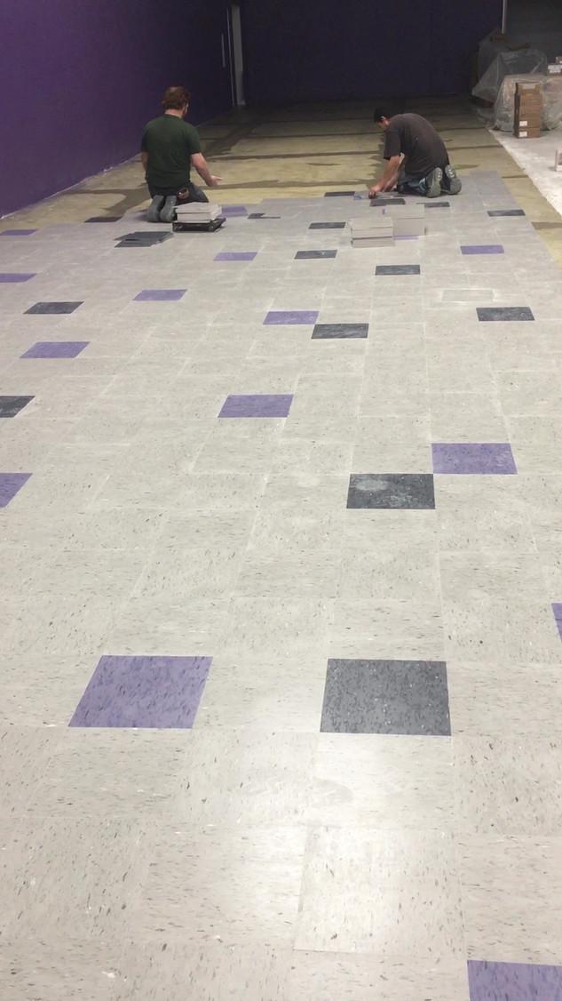 Flooring in Progress