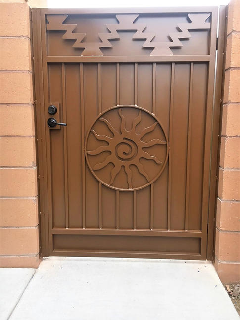 Solid Panel Gate 9