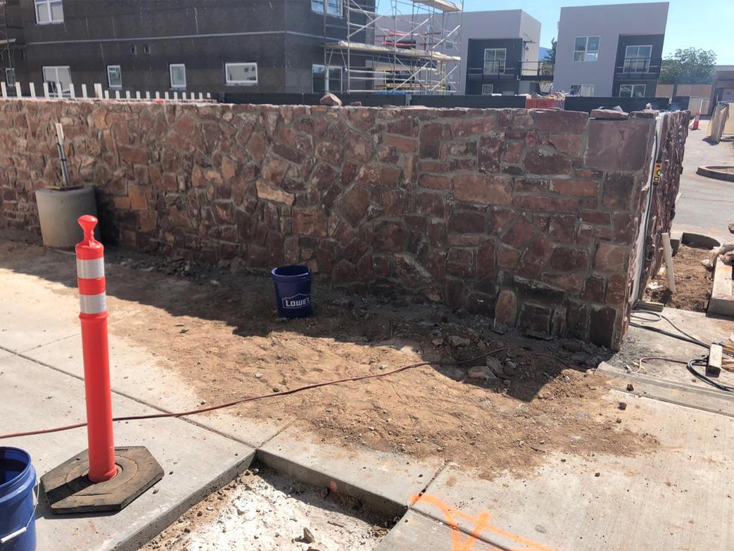 New, historically based walls